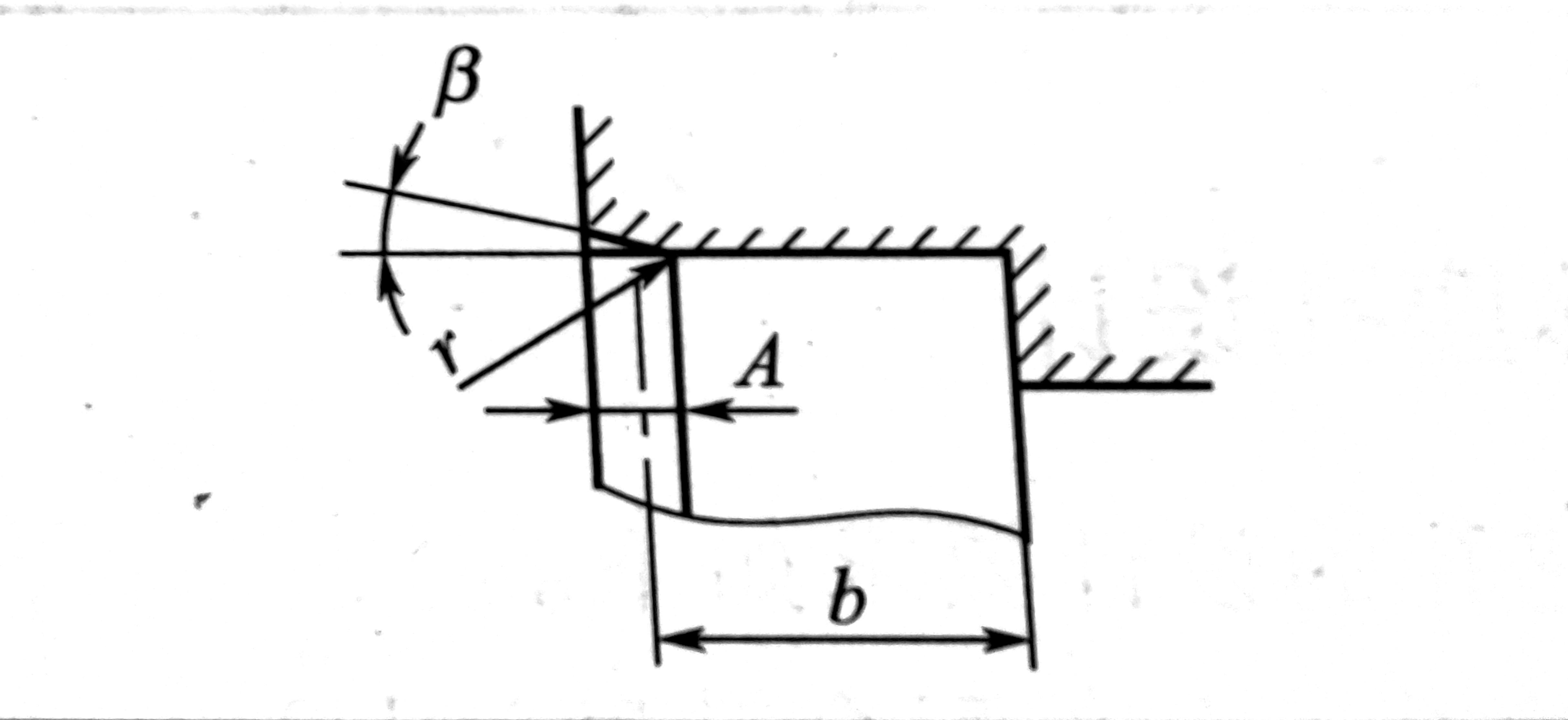 骨架油封安装孔倒角表示图